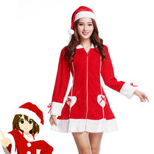 DM COS 2019 Christmas Dress Up Women's Cosplay Stage Performance Festival Party Costume Sexy Christmas Costume Cosplay Game Play christmas cos new game suzukaze aoba hot anime cosplay costume evil dress black wings full set