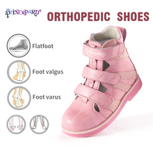 2019 Princepard new sandals orthopedic for kids pink Brown boys girls