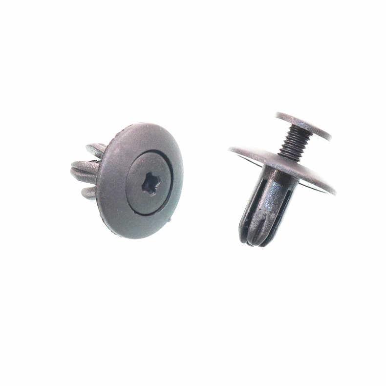20 adet 6mm 7mm 8mm 9mm 10mm delik vidalı plastik raptiye tampon çamurluk klip toka audi için Toyota VW Buick Honda Renault Nissan
