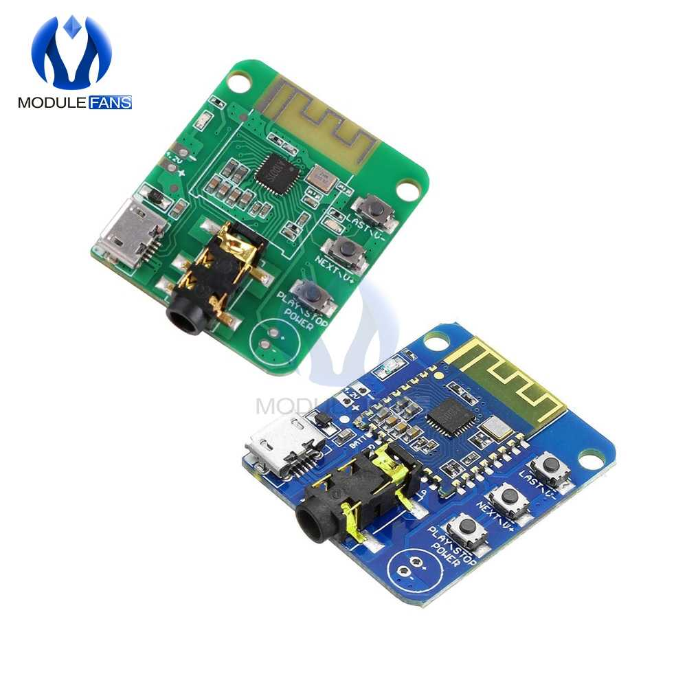 Bluetooth BLE V4.2 4.2 JDY-64 Nirkabel HIFI Speaker Audio Receiver Modul Earphone Amplifier Papan Transmisi Kesetiaan Yang Tinggi