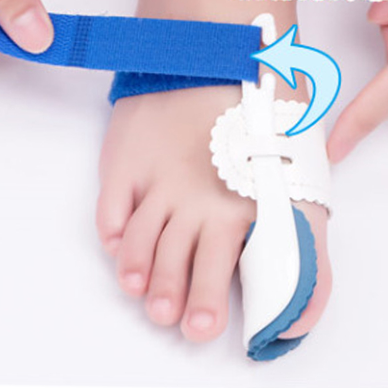 1 Pair Pain Relief Feet Care Tool Big Toe Separator Corrector Orthopedic Bunion Splint Toe Straightener Hallux Valgus in Foot Care Tool from Beauty Health