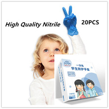Guantes Nitrile-Gloves Mittens Protective Food-Hand-Cover Cleaning-Work Disposable Soft