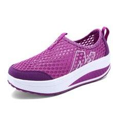 Fashion Shoes Women Mesh Flat Shoes Sneakers Platform Shoes Women Loafers Breath