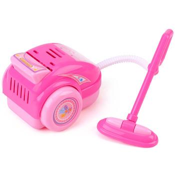 Dziewczyny bawią się zabawki domowe symulacja dzieci z odkurzaczem narzędzie do czyszczenia urządzenia higieniczne środki czyszczące meble zagraj w zabawki edukacyjne tanie i dobre opinie 8 ~ 13 Lat 2-4 lat 5-7 lat Pink Plastic 2 x AA Battery Baby Vacuum Cleaner Toy