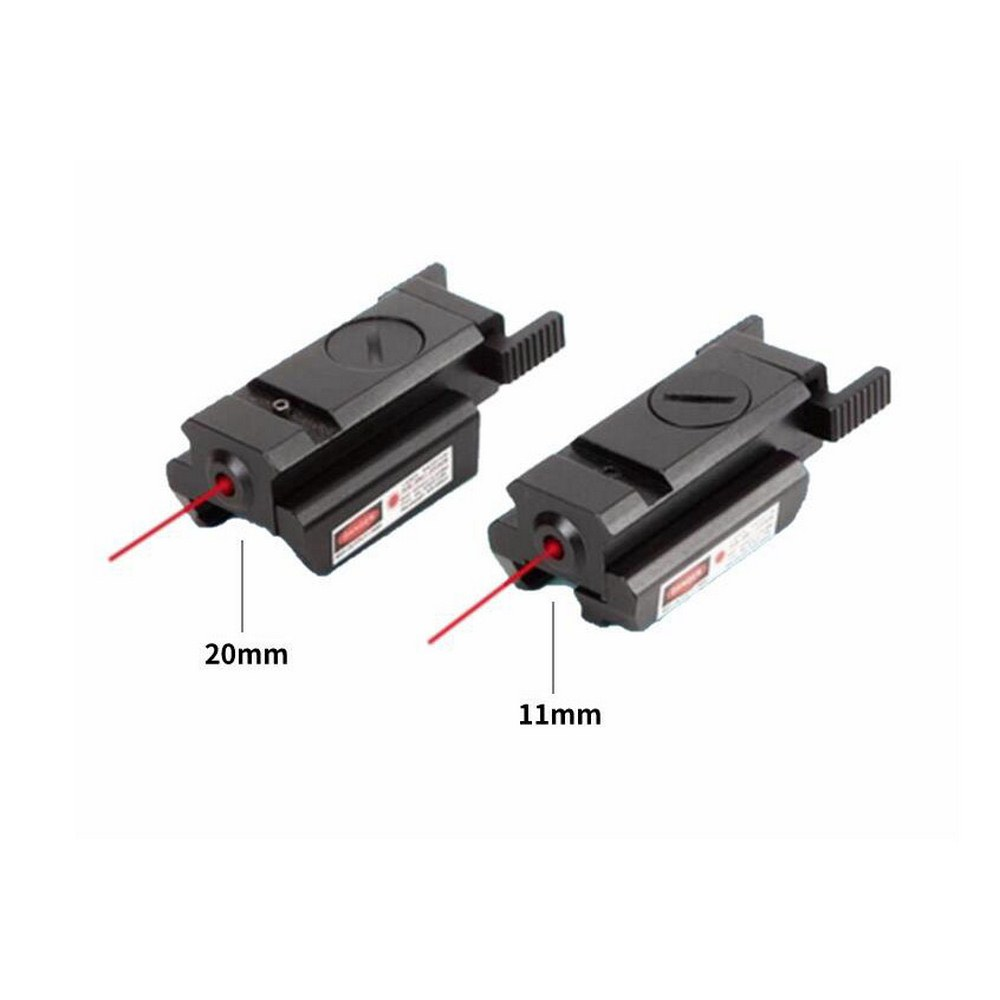 11mm/20mm Hunting Riflescope Tactical Red Dot Laser Sight Picatinny Weaver Rail for Pistol Glock Headgun Gun Red Dot Scope-2