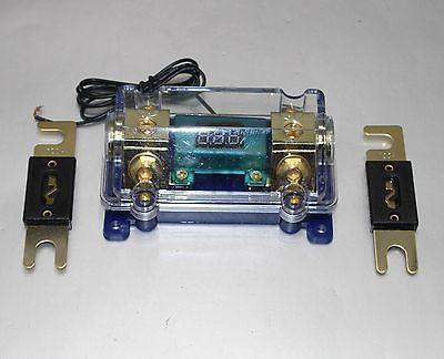 Support de fusible numérique platine ANL DIST bloc 0-4 jauge SKFH125BG gratuit ANL FUSE300