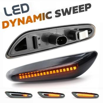 цена на 2x Dynamic LED Fender Light Side Marker For BMW 1 3 5 serie E46 E60 E61 E81 E82 E87 E88 E90 E91 E92 E93 X1 E84 X3 E83 X5 E53