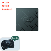 Cheap RK3229 quad-core 4K 2G 16G Smart TV Box Android 9.0 Su