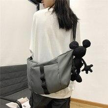 Hip Hop Women s Waterproof Messenger Bag 3D Bear Retro Men s Shoulder Bag Women Handbags Bags for Men