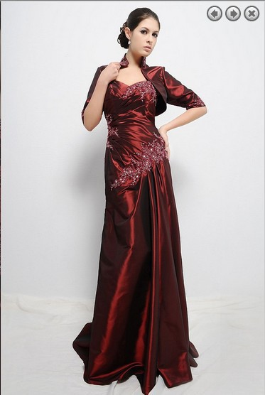Vestido De Festa Sweetheart Robe De Soiree 2016 New Fashion Sexy Long Mother Of The Bride Dresses With Jacket Free Shipping