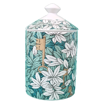 Lady Face Jar DIY Empty Candle Holder Beauty Dressing Brush Pen Box with Lid Ceramic Storage Tin Flower and Bottle 16