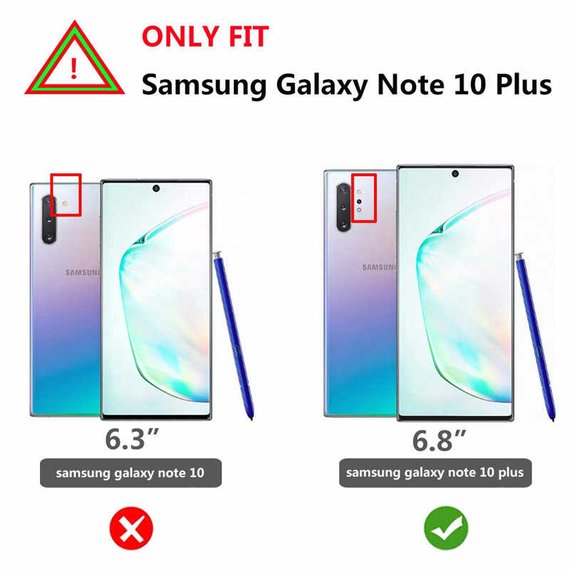 Voor Samsung Galaxy Note 10 Plus Case (2019) supcase Ub Pro Full-Body Robuuste Holster Cover Zonder Ingebouwde Screen Protector