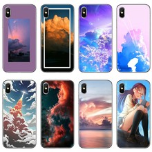 There Is No Cloud Silicone Phone Case For Xiaomi Mi 9 8 SE Pro A2 Lite 6X 5 4 A3 A1 Note Max Mix 2 3 Pocophone F1(China)