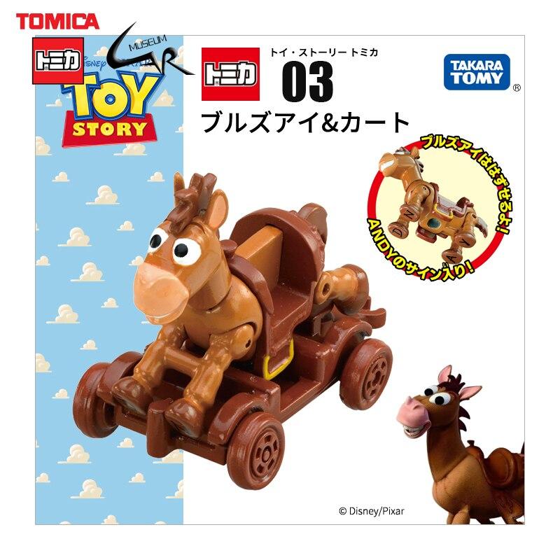 Takara Tomy Tomica alliage voitures moulé sous pression poupée disney jouets histoire calèche enfants cadeau