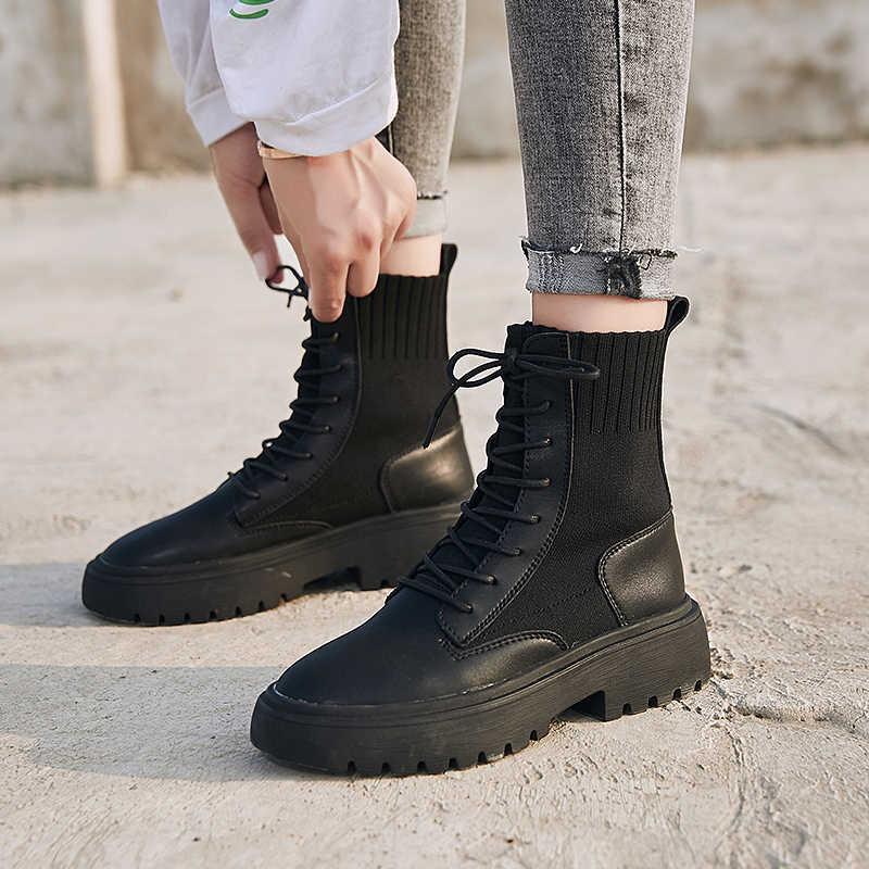 RASMEUP/2019 г. Летние женские носки Ботинки 2019 Ретро брендовый дизайн дышащие женские Ботинки Martin винтажная модная женская обувь