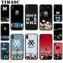 YIMAOC MONSTAX Monsta X kpop Soft Silicone Case for iPhone 11 Pro XR XS Max 8 7 6 Plus 5S SE 7Plus 8Plus