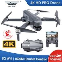 SJRC F11-Dron 4K PRO con cámara HD, profesional, GPS, 2 ejes, cardán estabilizador, 5G, Wifi, 1080P, cuadricóptero VS SG906