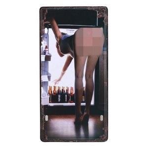 Красивая девушка металлическая пластина винтажная жестяная вывеска оловянные знаки для гаража домашний Декор стены железная живопись наклейки Бар Паб вверх Ретро плакат C26