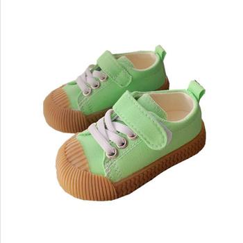 2021 nowe dziecięce trampki dla dzieci trener dla dzieci tenisowe biszkoptowe buty dorywczo modne buty do biegania buty dla maluchów tanie i dobre opinie COZOK 7-12m 13-24m 25-36m 4-6y CN (pochodzenie) Wiosna i jesień Damsko-męskie Skóra bydlęca latex PŁÓTNO Hook loop