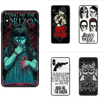 Metalcore Band Bmth Logo For Huawei Honor 20 20I 20S 10 10I 6A 7A 7X 8C 8X 9 9A 9I 9X Lite Pro Soft Cellphone Black image