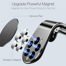 360 Metal Magnetic Car Phone Holder Stand