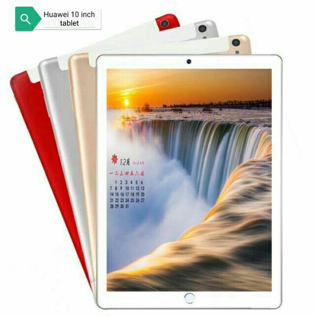 2020 New 10.1 Inch The Tablet Android 8.0 10 Core 6GB RAM + 128GB ROM Dual Camera 5MP SIM Tablet PC Wifi GPS FM 3G 4G Lte Phone