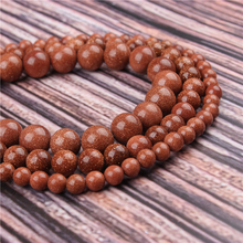 Natural Stone Sands 15.5 PicBlue Peacockk Size 4/6/8/10/12mm fit Diy Charms Beads Jewelry Making Accessories