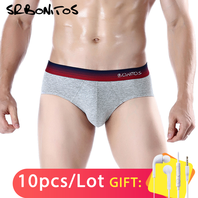 Men's 10Pcs BONITOS Brand, Soft Cotton European