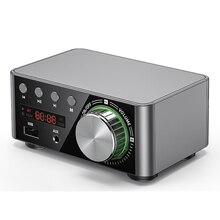TPA3116 HIFI 블루투스 5.0 디지털 파워 오디오 앰프 보드 50WX2 스테레오 카 앰프 Amplificador 홈 시어터 USB TF 카드 플레이어