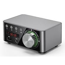Tpa3116 de alta fidelidade bluetooth 5.0 placa amplificador áudio potência digital 50wx2 amplificador estéreo do carro do teatro em casa jogador cartão tf usb