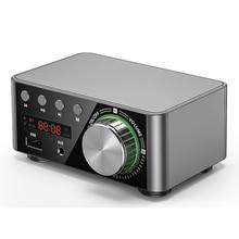 TPA3116 HIFI Bluetooth 5.0 dijital elektrikli ses yükseltici kurulu 50WX2 Stereo araba AMP Amplificador ev sineması USB TF kart oyuncu