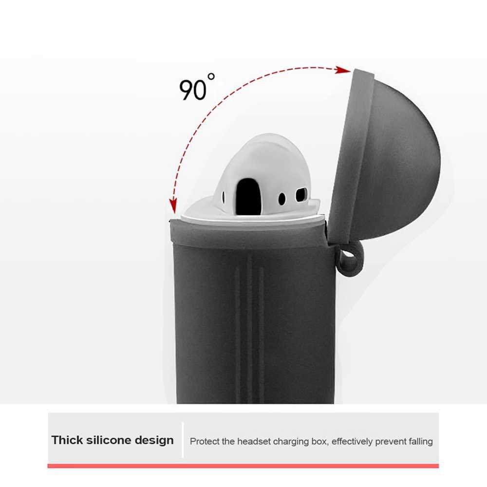 Miękkie silikonowe słuchawki Case dla Apple bezprzewodowe słuchawki Bluetooth, ochronny futerał ochronny dla ucha strąków
