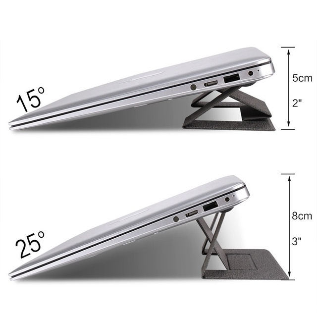 Foldable Laptop Stand Universal Laptop Bracket Adjustable Notebook Support Holder Portable Riser For Macbook Pro Air Kickstand