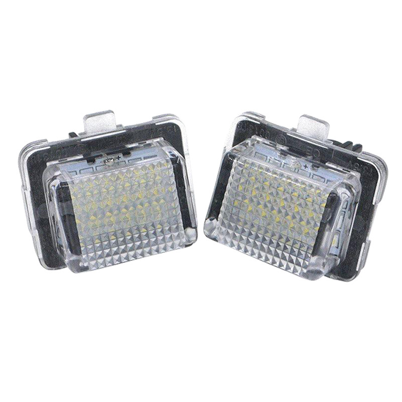 Car 18 Smd Led License Plate Light License Plate Light For Medes Mercedes W204 W221 <font><b>W212</b></font> W216 image