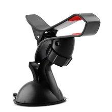 цена на Car phone holder Car 360 degree rotating GPS navigation bracket Lazy bracket Suction cup holder