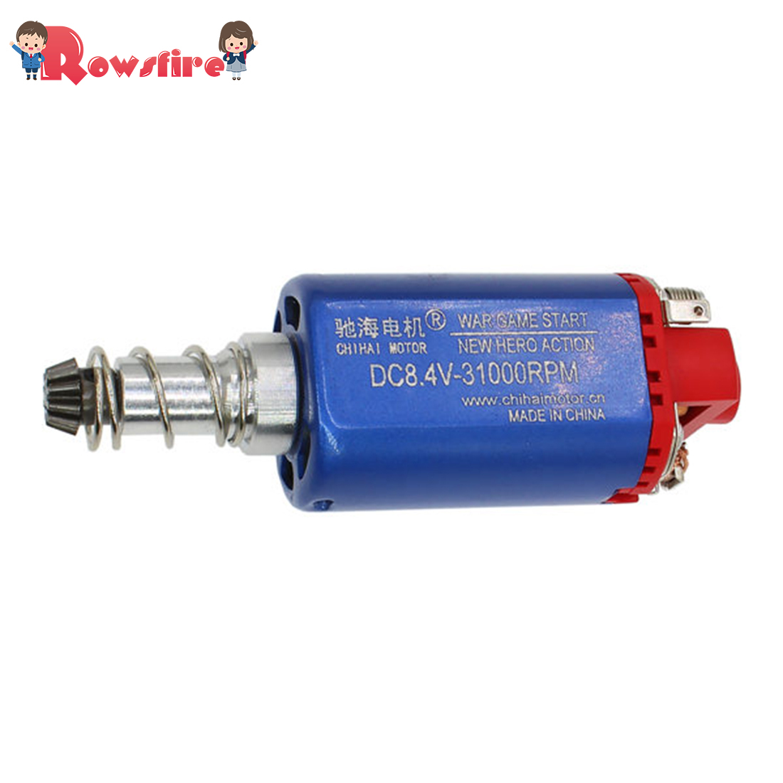 480 Long Shaft Entry Level Wet Pressure Magnetic Medium Speed Normal Torque Motor For Chihai No.2 Gearbox Modification Upgrade