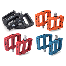 Mountain Bike Pedals Nylon Fiber Road Bearing Parts Bicycle Flat