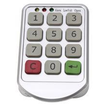 Zinc Alloy Smart Door Lock Home Waterproof Intelligent Keyless Digital Electronic Password Keypad Number Cabinet Code Lock 2016 high quality electronic keypad cabinet lock silver metal digital intelligent cabinet locks