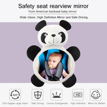 Monitor Mirror-Back Rearview-Mirror Baby Car Facing Seat-Headrest Ward Car-Safety Adjustable