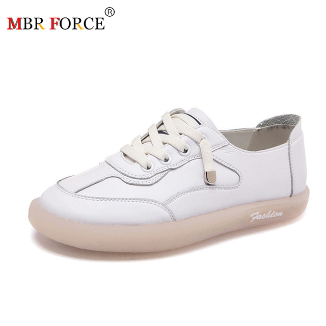 MBR FORCE  Women Sneakers Flats Platform shoes Fashion Lace up outdoor Casual Ladies shoes