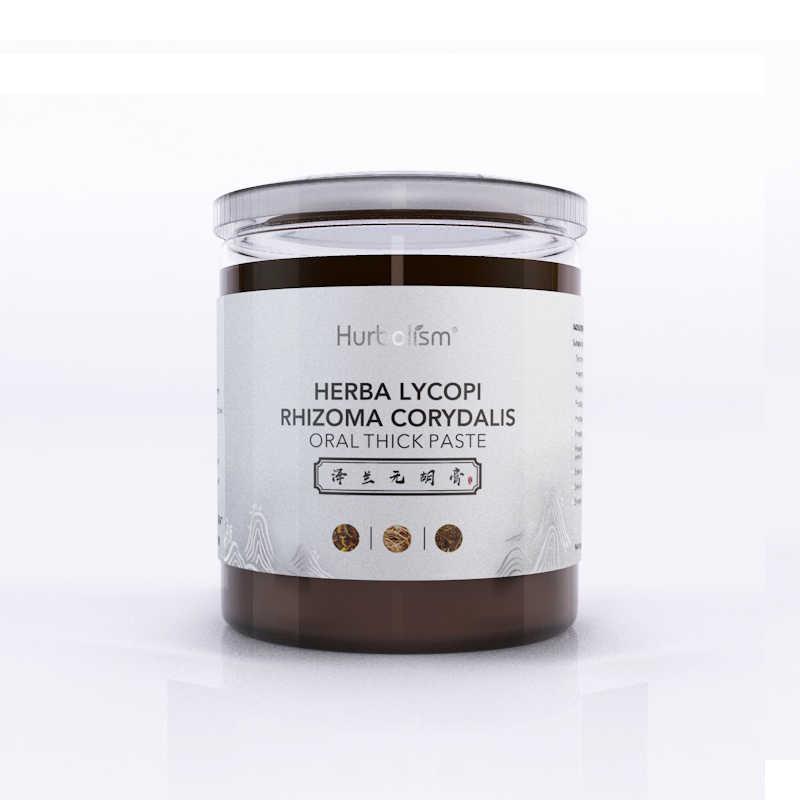 Hurbolism Herba Lycopi Rhizoma Corydalis Orale Pasta Spessa, Il Trattamento della prostatite maschile, dolore alla Prostata, cancro Alla Prostata, 300g