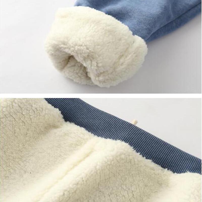 Women Pants Solid Elastic Waist Thick Harem Pants 2019 Winter Korean version New Lambskin Cashmere Warm