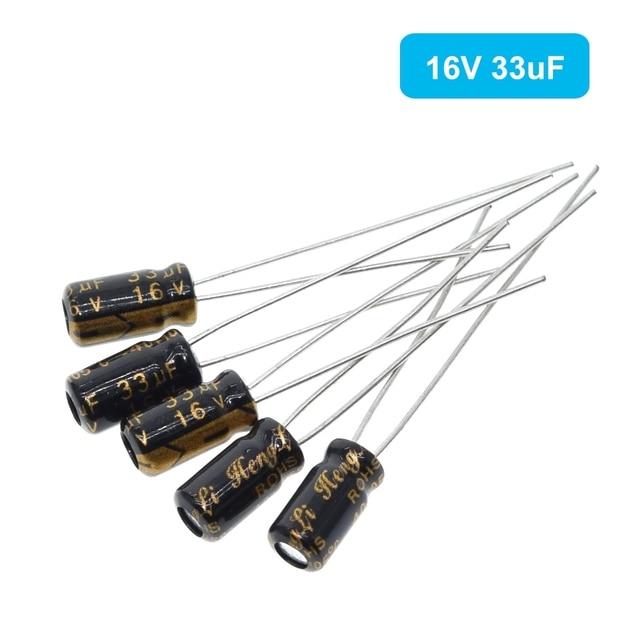 120pcs 1set of 120pcs 12 values 0.22UF-470UF Aluminum electrolytic capacitor assortment kit set pack 4