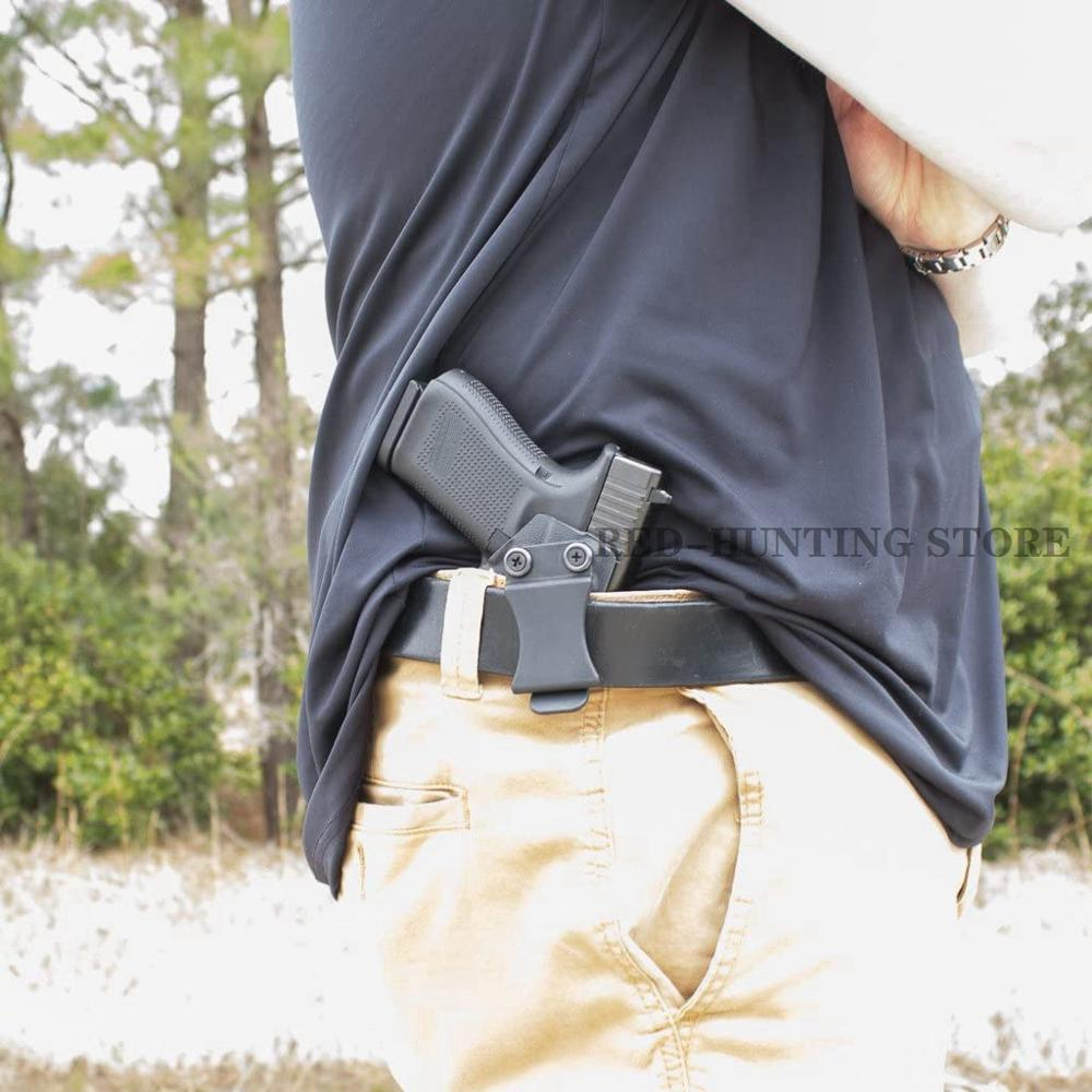 Hunting Gun Holster Accessories Tactical Waistband Kydex Holster Clips Inside Belt Platform For Glock 19/23 /32