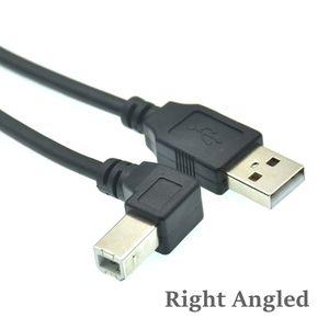 Image 5 - نوع الذكور إلى نوع B الذكور 90 درجة أعلى & أسفل & اليسار و اليمين الزاوية USB 2.0 طابعة كبل الماسح الضوئي 30 سنتيمتر 50 سنتيمتر 150 سنتيمتر 1ft 5 قدم