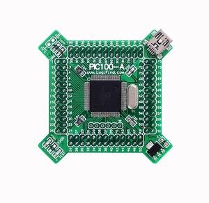PIC24 microcontroller learning development board core board PIC100-A with PIC24FJ256GA610(China)