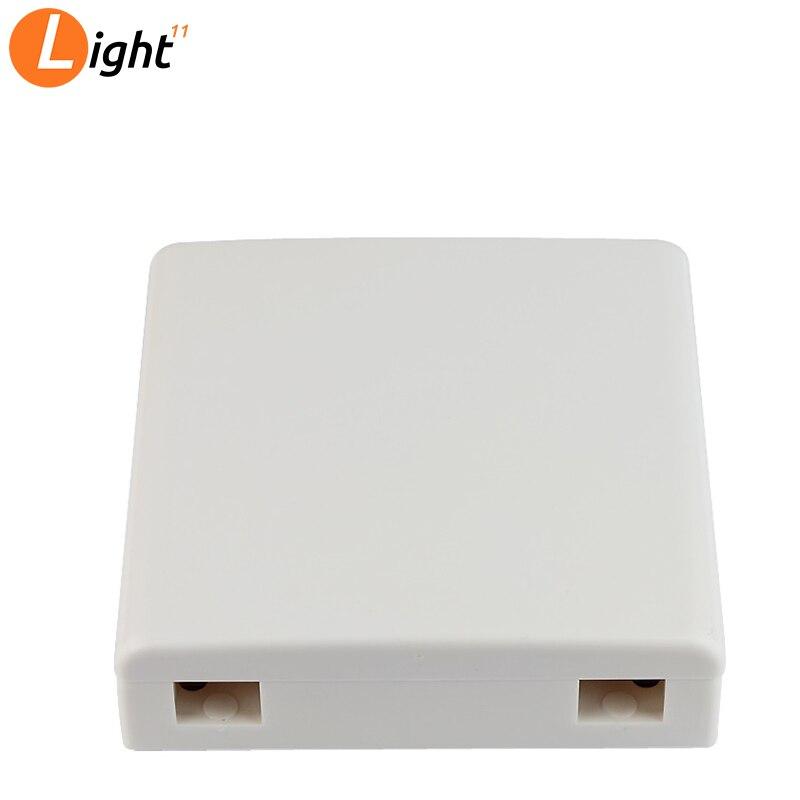 30pcs/lots  FTTH Fiber Panel Fiber Optic Terminal Junction Box 86 Information Panels Desktop Box