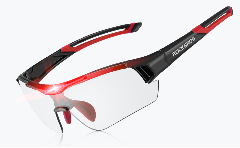 Accessory - ROCKBROS Photochromic Cycling Glasses Bicycle Outdoor Sports Sunglasses