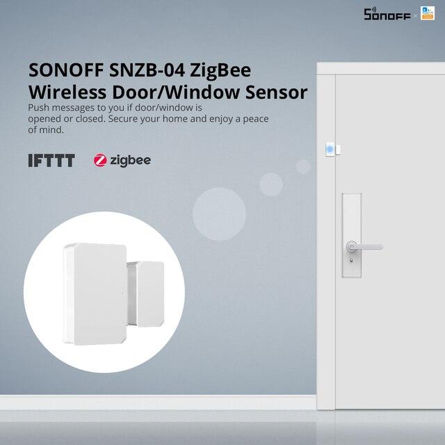 SONOFF Zigbee Bridge /Wireless Switch / Temperature And Humidity Sensor/Motion Sensor /Wireless Door Window Sensor Zigbee 3.0 5