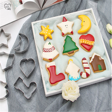 diy baking accessories christmas mini stainless steel biscuit cake chocolate 3d christmas decoration bake mold kitchen gadgets DIY Baking Accessories Christmas Mini Stainless Steel  Biscuit Cake Chocolate 3D Christmas Decoration Bake Mold Kitchen Gadgets